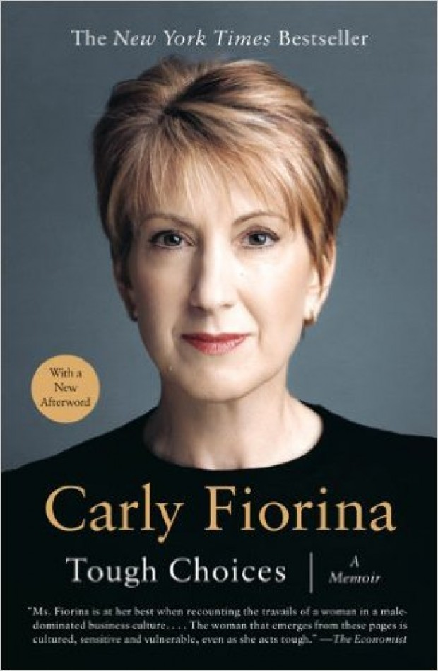 "Carly's memoir ""Tough Choices"" delves into her life before and during her time as a businesswoman (Photo via Amazon)"
