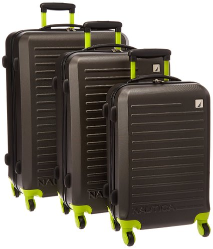 This Nautica luggage set is 83 percent off (Photo via Amazon)