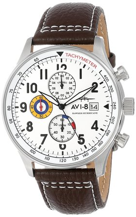 This $150 Avi-8 watch is on sale for under $90 (Photo via Amazon)