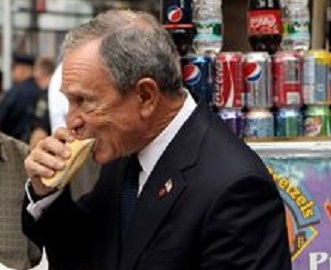 Bloomberg hot dog Getty Images Oli Scarff