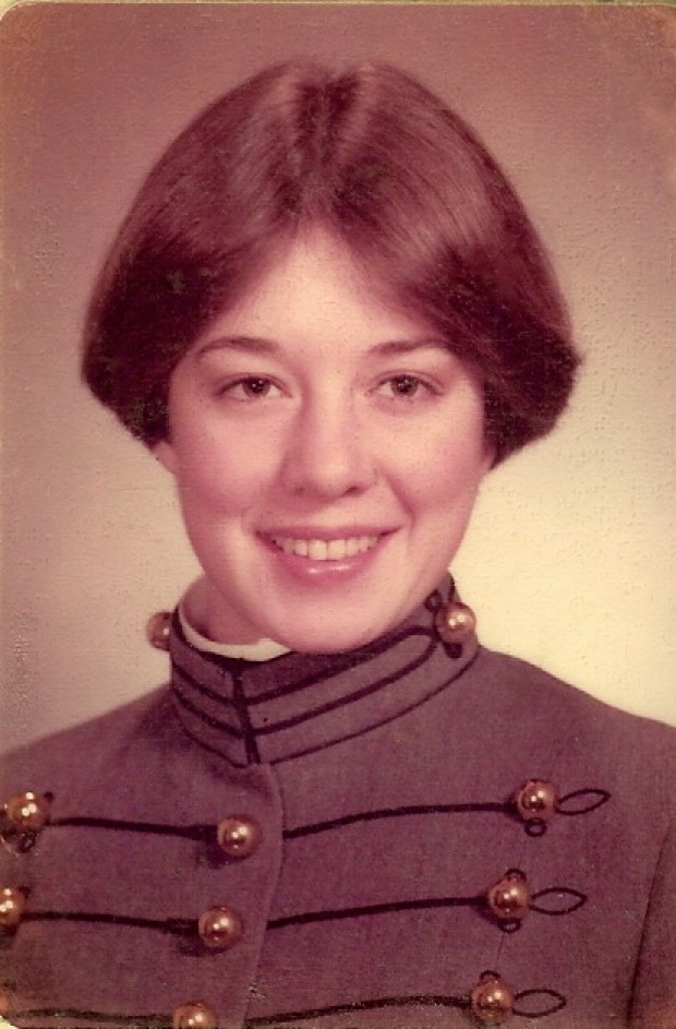 Debra Lewis, 1st class women at West Point, 1976. (Courtesy Debra Lewis)