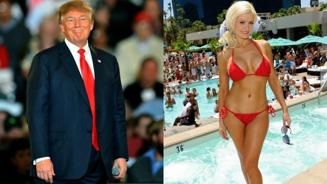 Donald Trump Playboy Mansion