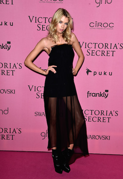 LONDON, ENGLAND - DECEMBER 02: Model Stella Maxwell attends the after party for the annual Victoria's Secret fashion show at Earls Court on December 2, 2014 in London, England. (Photo by Pascal Le Segretain/Getty Images)