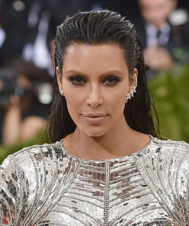 Kim Kardashian gets IV before Met Gala