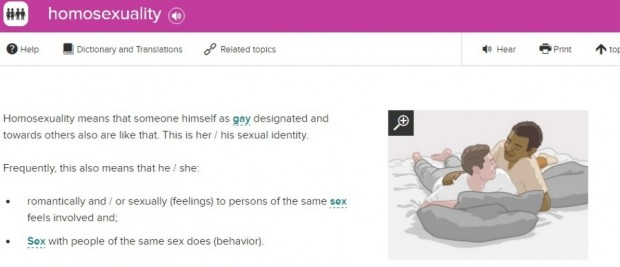 Homosexuality Migrant Guide Explanation