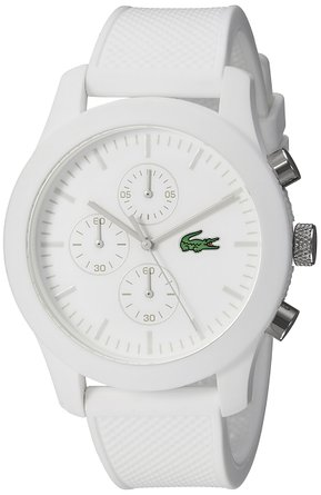 This normally $175 Lacoste watch is over $100 off! (Photo via Amazon)