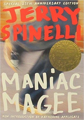 """""""Maniac Magee"""" is the first book for rookies in the #ALBookClub (Photo via Amazon)"""