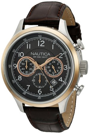 This $165 Nautica watch is over $100 off (Photo via Amazon)