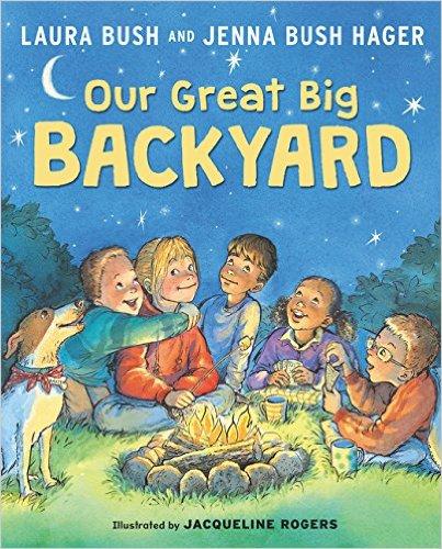 Laura Bush wrote a children's book (Photo via Amazon)