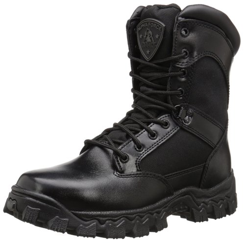 This Rocky Duty Alpha Force Zipper Boots is 32 percent off (Photo via Amazon)