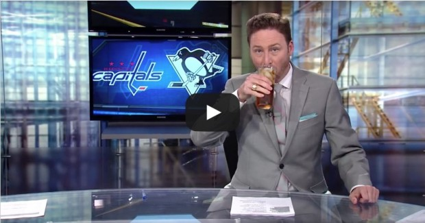 Newscaster Drinks Away His Sorrows From The Capitals Loss ...