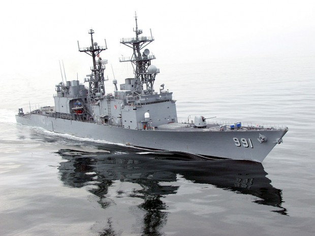 U.S. Navy Photo by Lieutenant Corey Barker.