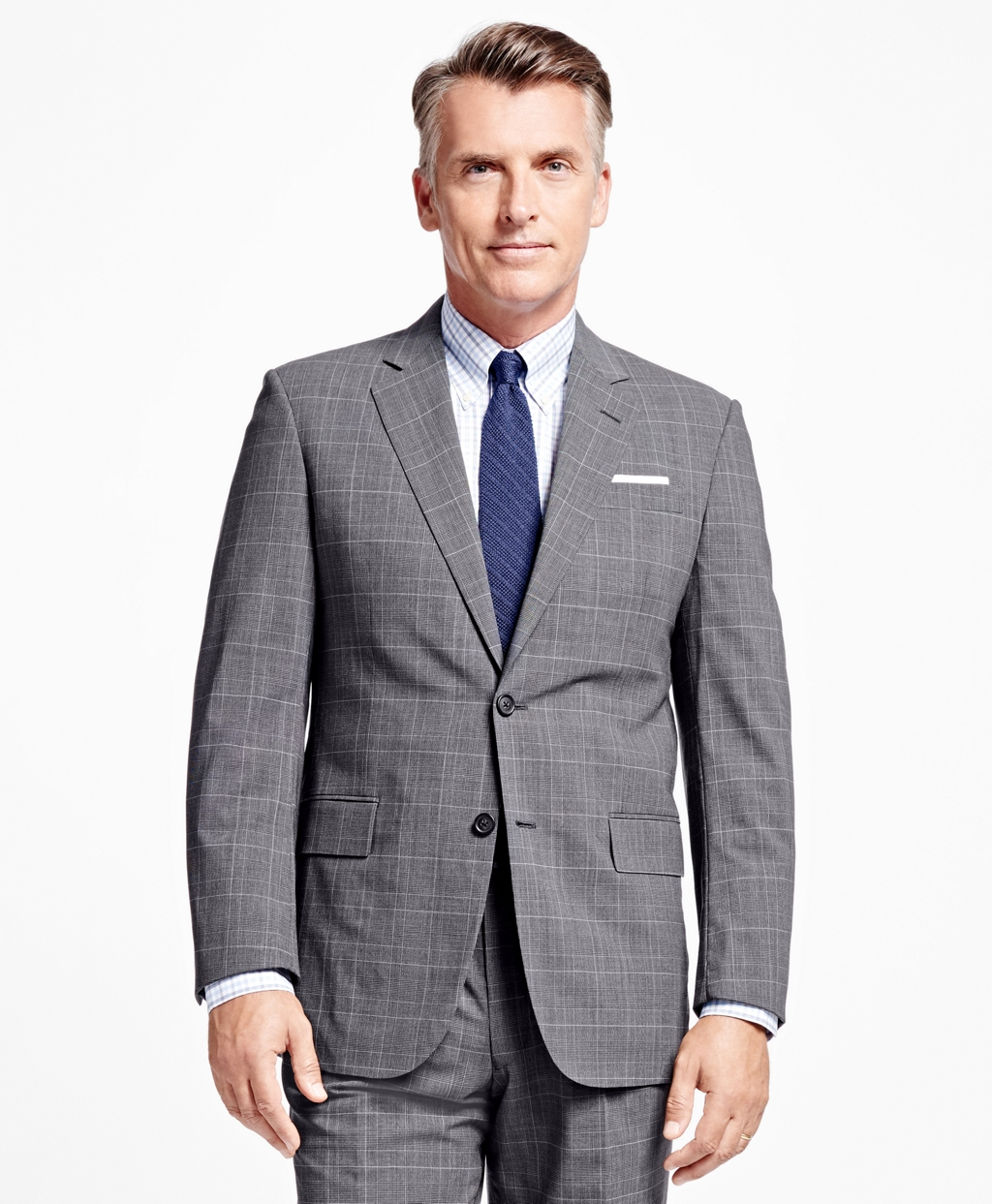 Brooks Brothers summer suits like this one are currently 2 for $899 (Photo via Brooks Brothers)