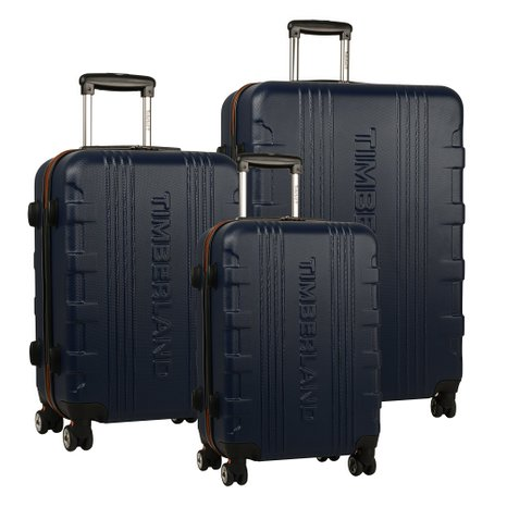 This Timberland luggage set is 85 percent off, much higher than the 60 percent advertised in the sale title (Photo via Amazon)