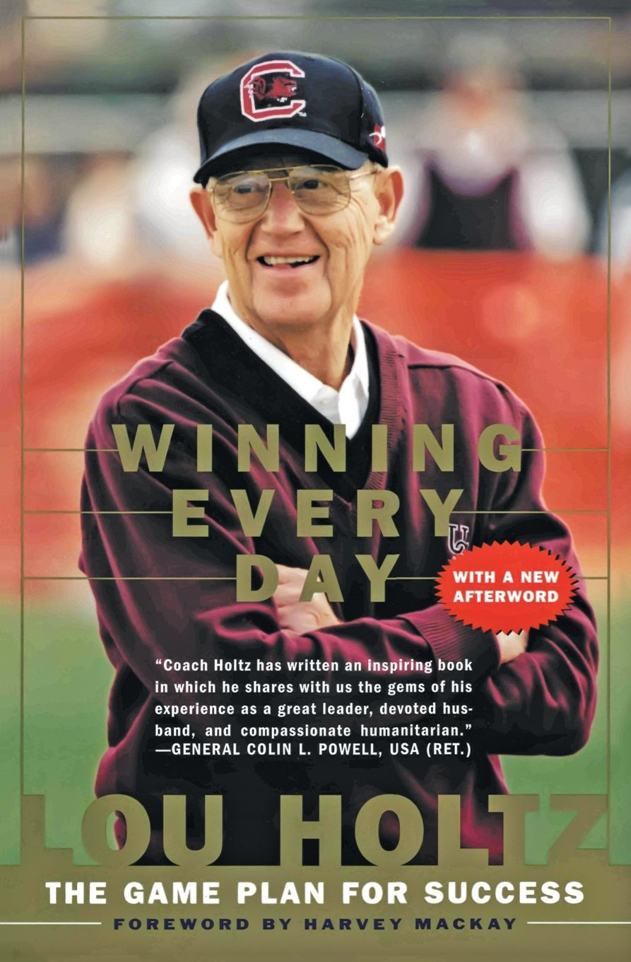 """Winning Every Day"" is a must read for those looking for strategies for success in personal and professional lives (Photo via Amazon)"