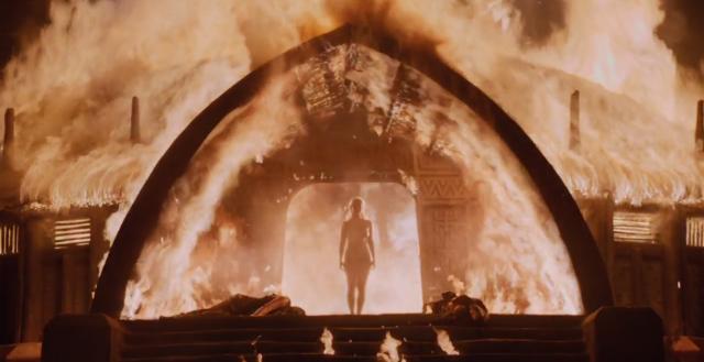 Game of Thrones nudity Khaleesi