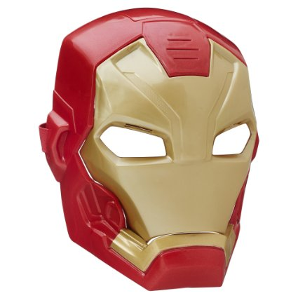 Iron Man's mask makes his side look pretty appealing (Photo via Amazon)