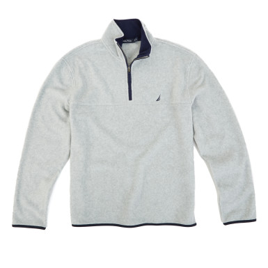 This quarter zip is normally $60 (Photo via Nautica)