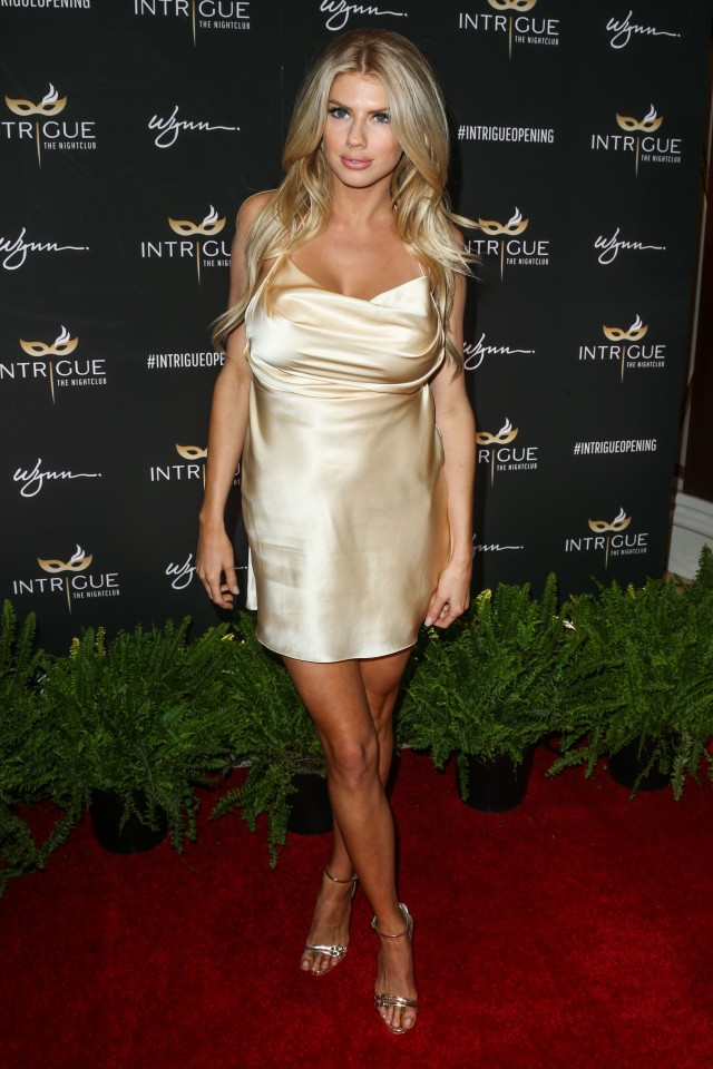 Charlotte McKinney arrives at the Los Angeles Premiere Of