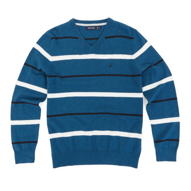 This sweater normally costs $70. It comes in four different colors (Photo via Nautica)