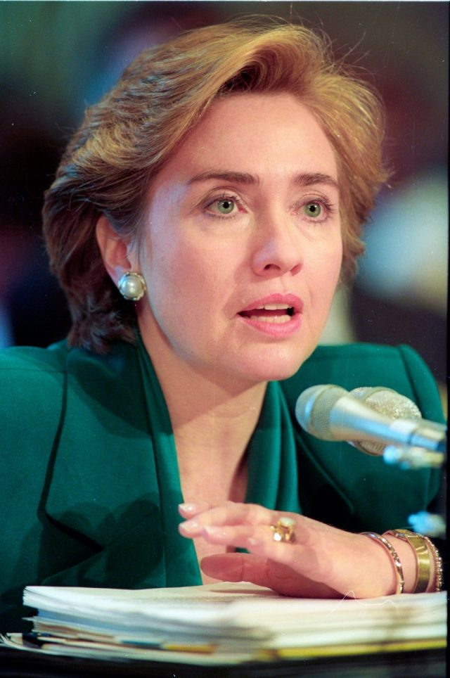 Clinton in 1993. (Photo: Reuters)