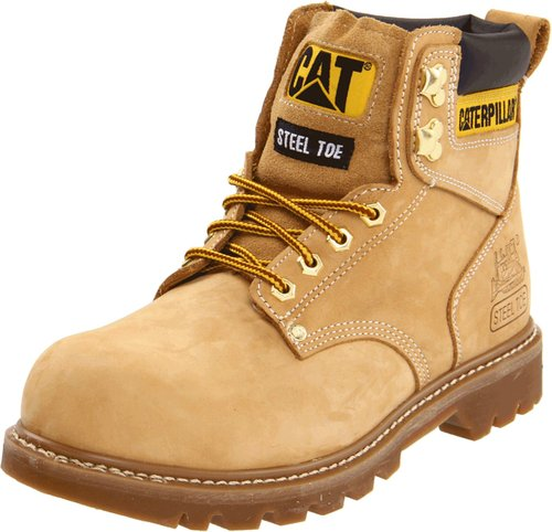 These CAT work boots are 40 percent off today (Photo via Amazon)