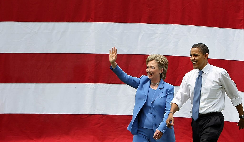 Barack Obama And Hillary Clinton Appear In First Joint Campaign Event (Getty Images)