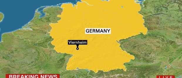 Map of Germany, Screen Grab CNN