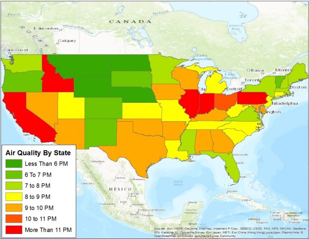 Data From Environmental Protection Agency, Mapped By The Daily Caller News Foundation
