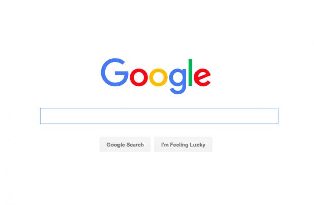 Screen capture of Google.com 6/4/16