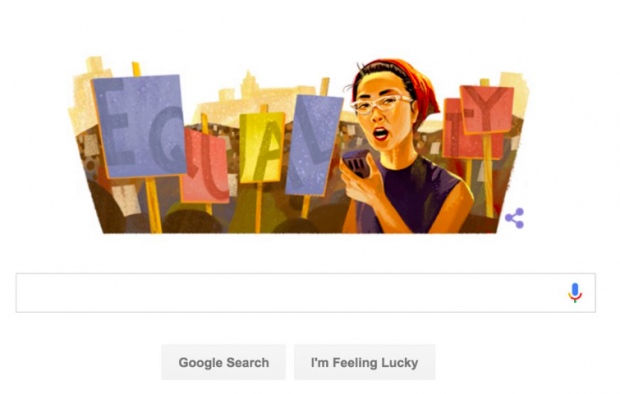 Screen capture of google.com on 5/19/16