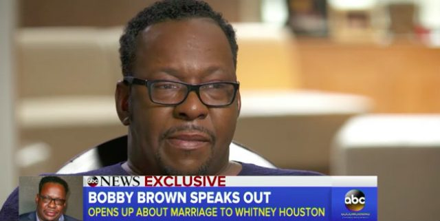 Bobby Brown sex with a ghost