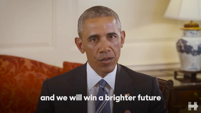 Barack Obama endorses Hillary Clinton (Hillary Clinton YouTube)