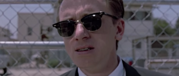 Mr. Orange wears Ray-Bans in 'Reservoir Dogs' (YouTube Screenshot)