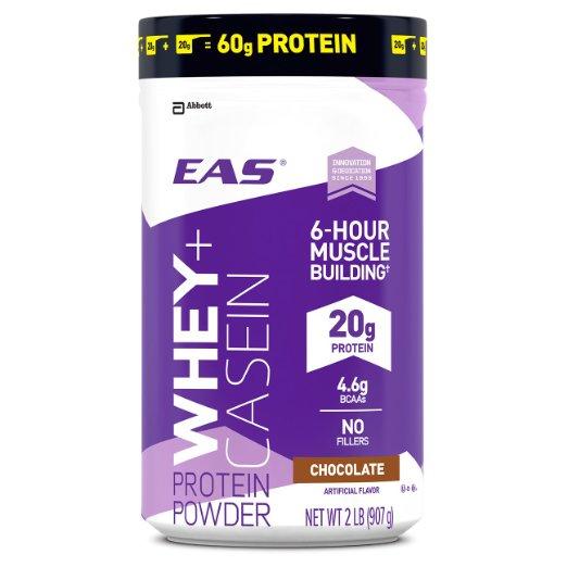 Whey + Casein powder (in chocolate, vanilla or strawberry) is 22 percent off today (Photo via Amazon)