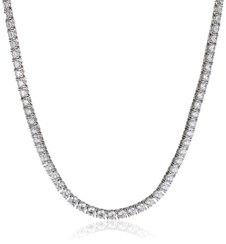 This classic Swarovski necklace can be had for under $100 today (Photo via Amazon)