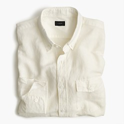 Normally $80, this Irish linen shirt can be had for $55 through June 6 (Photo via JCrew)
