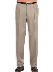 These Joseph & Feiss classic fit pants are available in khaki, navy, black, stone and army (Photo via Men's Wearhouse)
