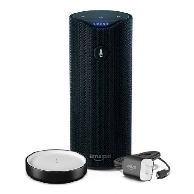 Normally $130, the Amazon Tap is 31 percent off today (Photo via Amazon)