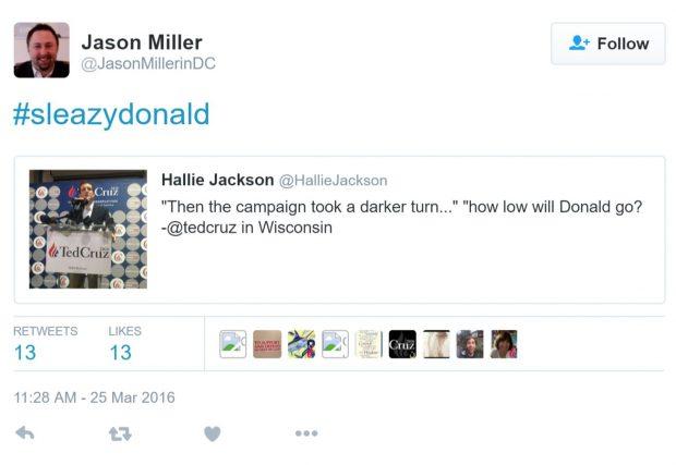 Jason Miller Twitter Screenshot (Credit: ThinkProgess)