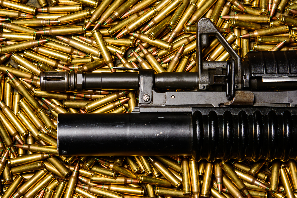 """""""Military Weapons"""" (Shutterstock)"""