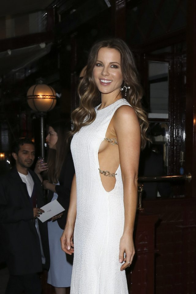 Christian Dior Cruise afterparty at Loulou's in London, UK. Pictured: Kate Beckinsale (photo:Splash News)