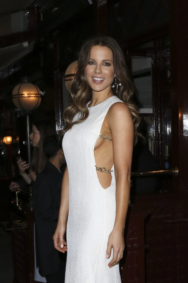 Christian Dior Cruise afterparty at Loulou's in London, UK. Pictured: Kate Beckinsale (photo: Splash News)