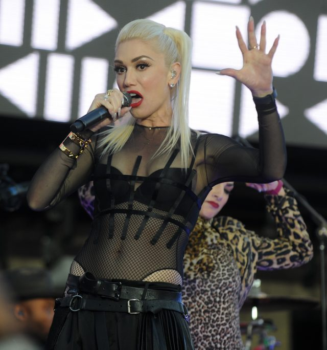 Gwen Stefani performs at Samsungs celebration of A Galaxy of Possibility and unveiling of Gear Fit2 at Samsung 837 on June 2, 2016 in New York City Pictured: Gwen Stefani (photo:Splash News)