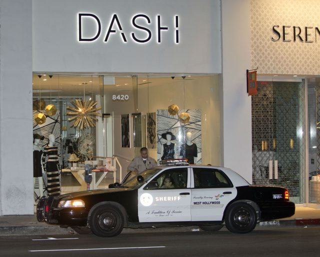 Kardashian store on fire