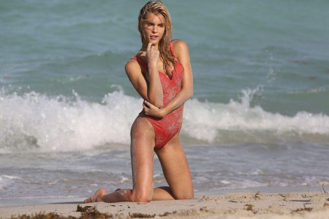 Joy Corrigan bikini photos
