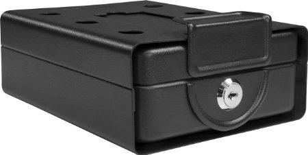Like the keypad safe, this Barska safe also has a 5-star customer rating (Photo via Amazon)