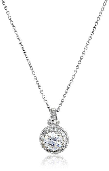This Zirconia pendant is 34 percent off today (Photo via Amazon)