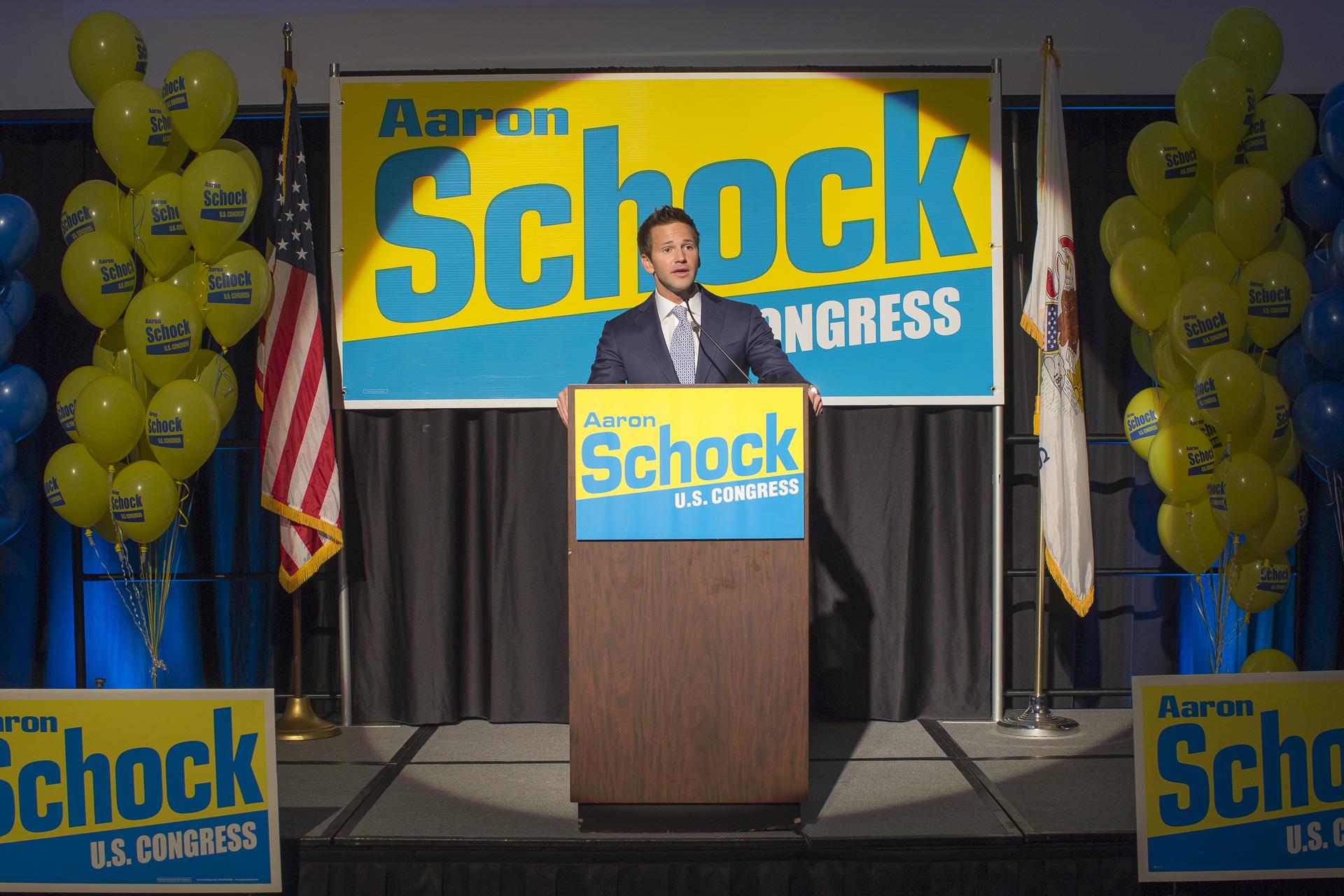 Former Illinois Rep. Aaron Schock