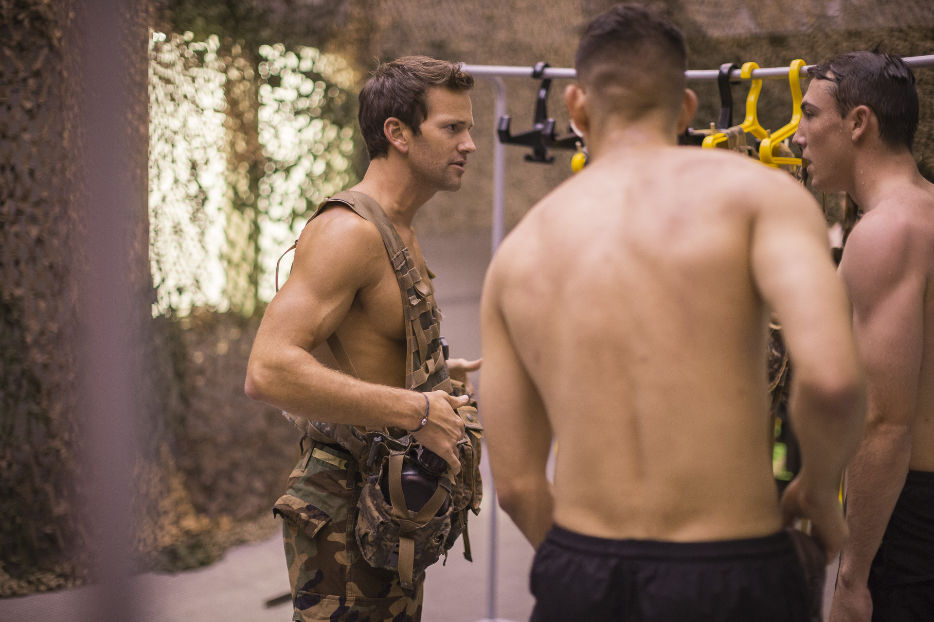 Former Illinois Rep. Aaron Schock at West Point, Oct. 1.